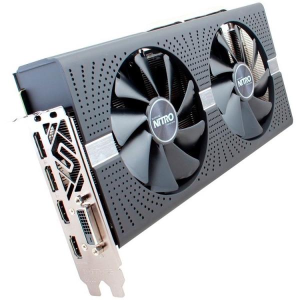Sapphire Video Card AMD Radeon NITRO+ RX 580 8G GDDR5 DUAL HDMI / DVI-D / DUAL DP W/BP (UEFI) SPECIAL EDITION (Samsung memory) 2