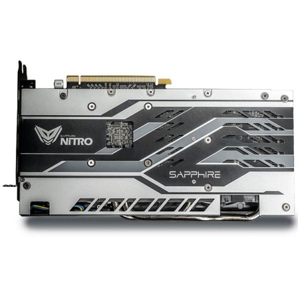 Sapphire Video Card AMD Radeon NITRO+ RX 580 8G GDDR5 DUAL HDMI / DVI-D / DUAL DP W/BP (UEFI) SPECIAL EDITION (Samsung memory) 1