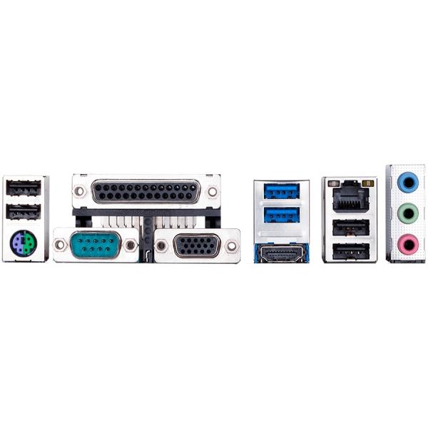 GIGABYTE Main Board Desktop Intel H310 (S1151v2, 2xDDR4, Realtek ALC887, 1x10/100/1000 Mbit, 1xPCIEX16, 2xPCIEX1, 3xPCI, 1xM.2, 4xSATA 6Gb/s, 1xPS/2, 1xparallel port, 1xserial port, 1xD-Sub, 1xHDMI, 2 1