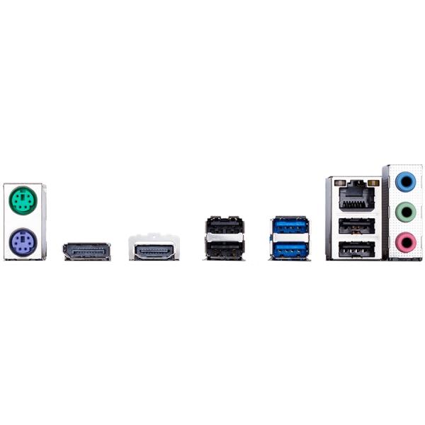 GIGABYTE Main Board Desktop Intel H310 (S1151v2, 2xDDR4, Realtek ALC887, 1x10/100/1000 Mbit, 1xPCIEX16, 2xPCIEX1, 1xM.2, 4xSATA 6Gb/s, 2xPS/2, 1xDP, 1xHDMI, 2xUSB3.1Gen1, 4xUSB2.0, 1xRJ-45) mATX, Reta 1