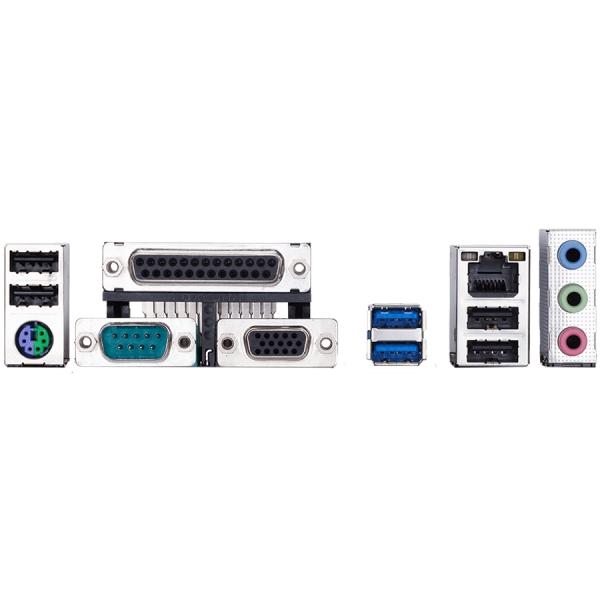 MB GIGABYTE   Intel H310 (S1151v2, 2xDDR4, Realtek ALC887, 1x10/100/1000 Mbit, 1xPCIEX16, 2xPCIEX1, 4xSATA 6Gb/s, 1xPS/2, 1xparallel port, 1xserial port, 1xD-Sub, 2xUSB3.1Gen1, 4xUSB2.0, 1xRJ-45) mATX 1