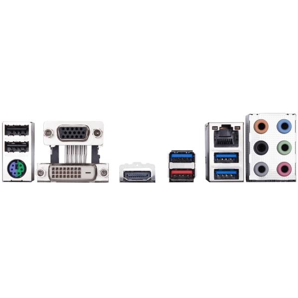 Gigabyte Main Board Desktop B360 (S1151v2, 4xDDR4, HDMI, DVI-D, 1xPCIex16, 1xPCIex4, 4xPCIex1, Realtek 8118, 6xSATA3, M.2 USB 3.1, USB 3.0, USB 2.0) ATX, retail 1