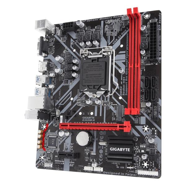 GIGABYTE Main Board Desktop Intel B360 (S1151v2, 2xDDR4, Realtek ALC887, 1x10/100/1000 Mbit, 1xPCIEX16, 1xPCIEX1, 1xM.2, 4xSATA 6Gb/s, 2xPS/2, 1xD-Sub, 1xHDMI, 4xUSB3.1Gen1, 2xUSB2.0, 1xRJ-45) mATX, R 2