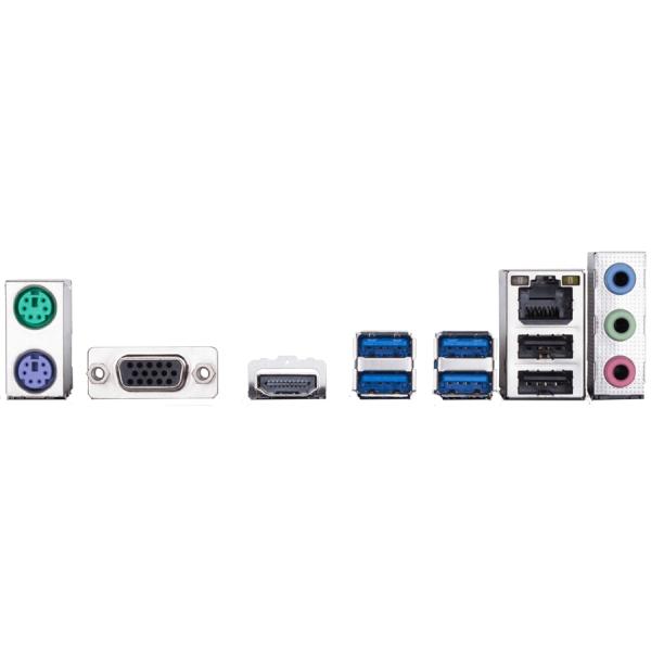 GIGABYTE Main Board Desktop Intel B360 (S1151v2, 2xDDR4, Realtek ALC887, 1x10/100/1000 Mbit, 1xPCIEX16, 1xPCIEX1, 1xM.2, 4xSATA 6Gb/s, 2xPS/2, 1xD-Sub, 1xHDMI, 4xUSB3.1Gen1, 2xUSB2.0, 1xRJ-45) mATX, R 1