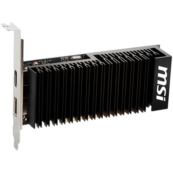 """MSI Video Card NVidia GeForce GT 1030 LP OC GDDR4 2GB/64bit, PCI-E 3.0 x16, DisplayPort, HDMI, DX 12, Retail """"GT_1030_2GHD4_LP_OC"""" 2"""