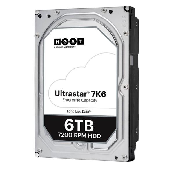 Western Digital Ultrastar DC HDD HC310 (3.5'', 6TB, 256MB, 7200 RPM, SATA 6Gb/s, 512E SE), SKU: 0B36039 (WD6002FRYZ replacement) 0