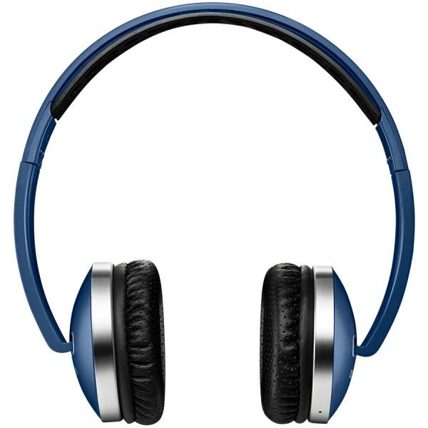Wireless Foldable Headset, Bluetooth 4.2, Blue 0
