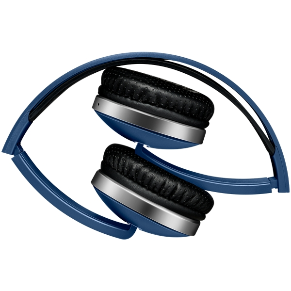 Wireless Foldable Headset, Bluetooth 4.2, Blue 1