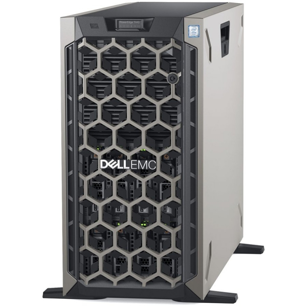 Server Dell PowerEdge T440 -Tower- Intel Xeon Silver 4110 8C/16T 2.1GHz, 2x32GB RDIMM-2666MT/s, 2x 300GB  15K RPM SAS (max. 8 x 3.5\'\' hot-plug HDD),4TB 7.2K RPM SATA, PERC H730P+, iDRAC9 Express, Ho 0