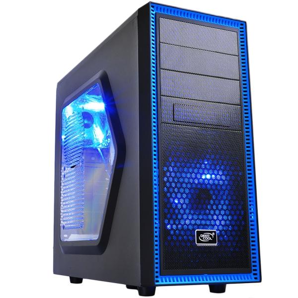 Deepcool Tesseract SW, SPCC Steel ATX Mid Tower Case 0