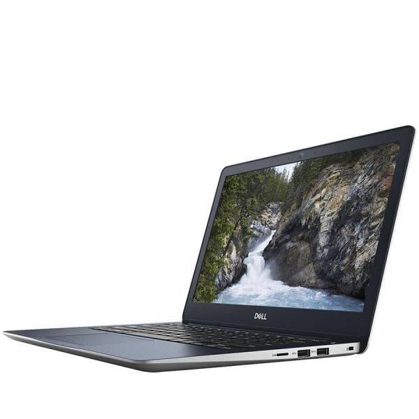 Dell Inspiron 13 (5370) 5000 Series, 13.3-inch FHD (1920x1080), Intel Core i3-7130U, 4GB DDR4 2400MHz, 128GB SSD, Intel HD Graphics 620 , Wifi 802.11ac, BT 4.2,FGPR, non-Backlit Keyb, Ubuntu,Silver, 3 3