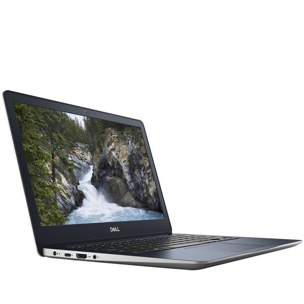 Dell Inspiron 13 (5370) 5000 Series, 13.3-inch FHD (1920x1080), Intel Core i3-7130U, 4GB DDR4 2400MHz, 128GB SSD, Intel HD Graphics 620 , Wifi 802.11ac, BT 4.2,FGPR, non-Backlit Keyb, Ubuntu,Silver, 3 2
