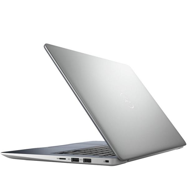 Dell Inspiron 13 (5370) 5000 Series, 13.3-inch FHD (1920x1080), Intel Core i3-7130U, 4GB DDR4 2400MHz, 128GB SSD, Intel HD Graphics 620 , Wifi 802.11ac, BT 4.2,FGPR, non-Backlit Keyb, Ubuntu,Silver, 3 1