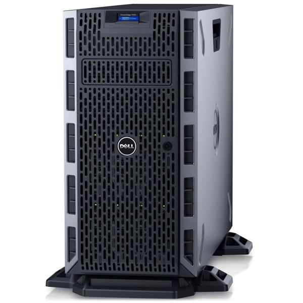 Server Dell PowerEdge T330-Tower - Intel Xeon E3-1220v6 4C/4T 3.0GHz, 16GB(1x16GB)DDR4-2400 UDIMM, DVD+/-RW, 2x 1TB 7.2K SATA (max. 8 x 3.5\'\' hot-plug HDD), PERC H730 1GB Cache, iDRAC8 Enterprise, H 0