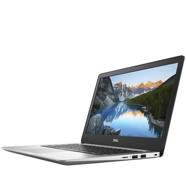 Dell Inspiron 13 (5370) 5000 Series, 13.3-inch FHD (1920x1080), Intel Core i3-8130U, 4GB DDR4 2400MHz, 128GB SSD, Intel UHD Graphics, Wifi 802.11ac, BT 4.2,FGPR, Backlit Keyb,Win 10 Home,Silver, 3Yr C 3