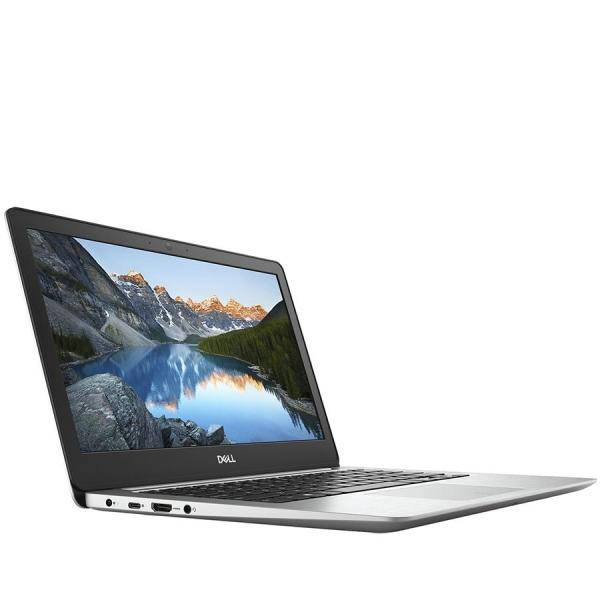 Dell Inspiron 13 (5370) 5000 Series, 13.3-inch FHD (1920x1080), Intel Core i3-8130U, 4GB DDR4 2400MHz, 128GB SSD, Intel UHD Graphics, Wifi 802.11ac, BT 4.2,FGPR, Backlit Keyb,Win 10 Home,Silver, 3Yr C 2
