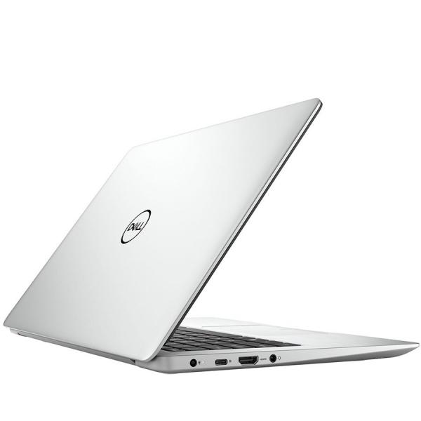 Dell Inspiron 13 (5370) 5000 Series, 13.3-inch FHD (1920x1080), Intel Core i3-8130U, 4GB DDR4 2400MHz, 128GB SSD, Intel UHD Graphics, Wifi 802.11ac, BT 4.2,FGPR, Backlit Keyb,Win 10 Home,Silver, 3Yr C 1