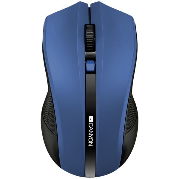 2.4Ghz wireless Optical Mouse with 4 buttons, DPI 800/1200/1600,blue 0