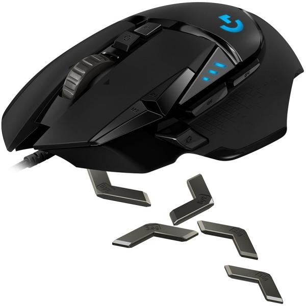 "LOGITECH G502 HERO High Performance Gaming Mouse - USB - EER2 ""910-005470"" 0"