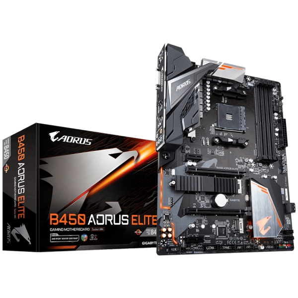 GIGABYTE Main Board Desktop B450 AORUS ELITE 0