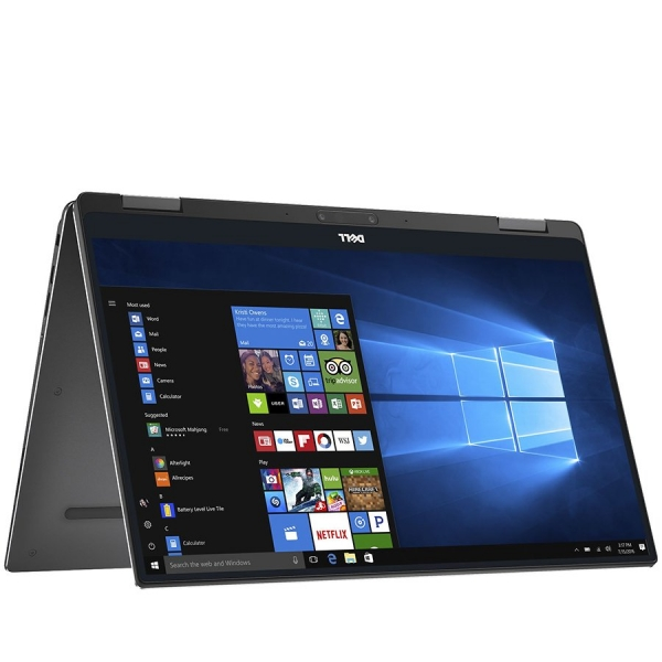 Dell XPS 13(9365)2-in-1,13.3-inch QHD+(3200 x 1800)InfinityEdge touch display,Intel Core i7-7Y75,16GB DDR3 1866MHz,512GB(M.2)SSD,noDVD,Intel HD Graphics, 802.11ac 2x2 WiFi for Vpro,BT 4.1 ,FgPr,Backli 1