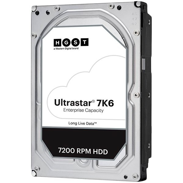 Western Digital Ultrastar DC HDD HC310 (3.5'', 4TB, 256MB, 7200 RPM, SATA 6Gb/s, 512N SE), SKU: 0B35950, (WD4002FYYZ Replacement) 0