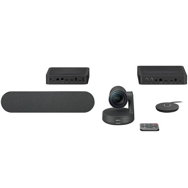 "LOGITECH Rally Ultra-HD ConferenceCam - BLACK - USB - PLUGC - EMEA - EU ""960-001218"" [0]"