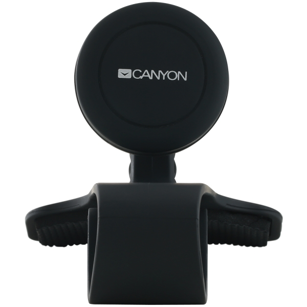 Canyon Car Holder for Smartphones,magnetic suction function ,with 2 plates(rectangle/circle), black ,115*83*100mm 0.072kg 2