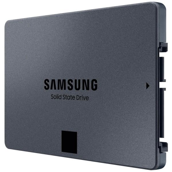 """SSD Samsung, 2TB, 860 QVO, retail, SATA3, R/W speed: 550/520 MB/s """"MZ-76Q2T0BW"""" 3"""