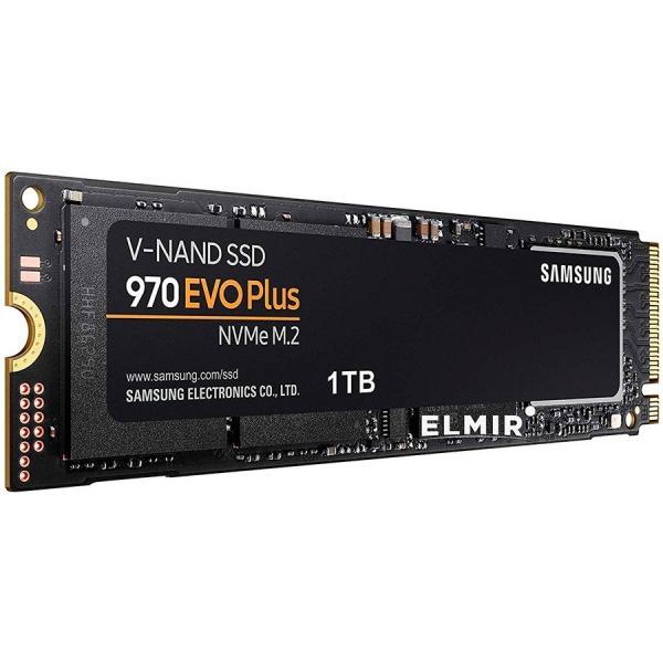 "SSD SAMSUNG M.2 PCIe 1TB, Gen3 x4,     970 EVO PLUS MZ-V7S1T0BW"" 2"