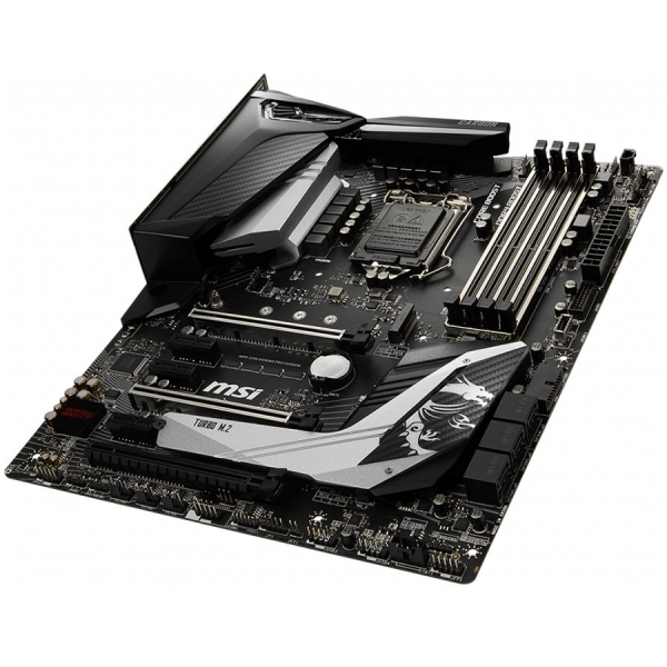 MSI Main Board Desktop Z390 (S1151, 4xDDR4, 3xPCI-Ex16, 3xPCI-Ex1, USB3.1, USB Type-C, USB2.0, 6xSATA III, 2xM.2, RAID, HDMI, DP, GLAN, RGB) ATX Retail 1