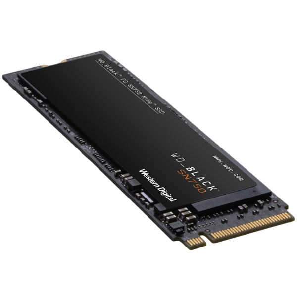 "SSD series Black SN750, 1TB, Form Factor M.2, PCIE, Write speed 3000 MBytes/sec, Read speed 3470 MBytes/sec, Drive thickness 2.38mm, MTBF 1750000 hours ""WDS100T3X0C"" 0"