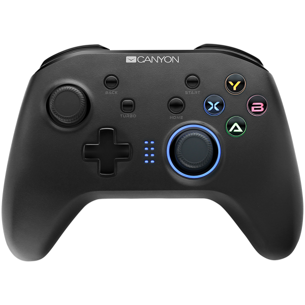 2.4G Wireless Controller with  built-in 600mah battery, 1M Type-C charging cable ,6 axis motion sensor support nintendo switch ,android,PC X-input/D-input,ps3,normal size dongle,black 0