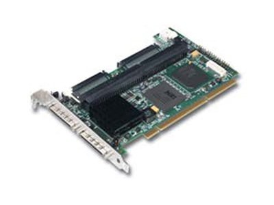 RAID LSI LOGIC MegaRAID SCSI 320-2 Ultra320 SCSI PCI-X 2ch 128MB (Level 0,Level 1,Level 10,Level 5,Level 50), 1-pack [0]