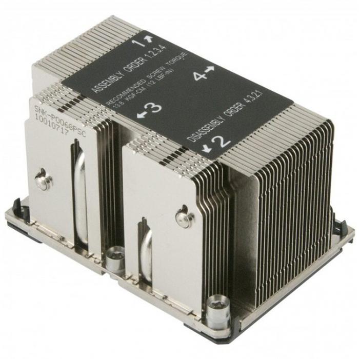 2U Passive CPU Heat Sink for LGA 3647 [0]