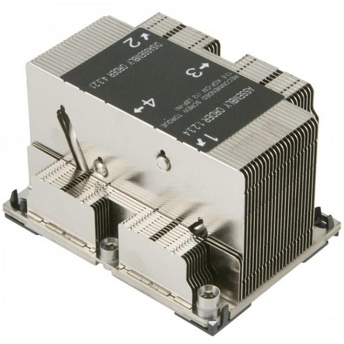 2U Passive CPU Heat Sink for LGA 3647 [1]