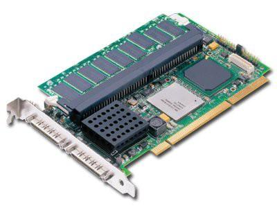 RAID Controller LSI LOGIC Internal MegaRAID SCSI 320-2 2ch 128MB (PCI-X, Ultra320 SCSI) (RAID levels: 0, 1, 10, 5, 50) [0]