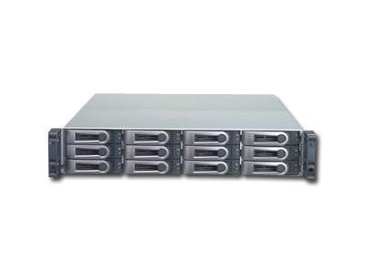 NAS PROMISE VTrak E310f (supported 12 HDD, Fibre Channel, Power Supply - hot-plug / redundant, 2U Rack-mount, 2U, SAS/SATA II, Level 0, 1, 10, 5, 50, 6, 1E, 60) [0]