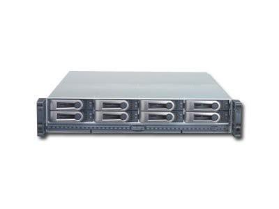 NAS PROMISE VTrak M210i (supported 8 HDD, Power Supply - hot-plug / redundant, 2U Rack-mount, Serial ATA-150/Serial ATA II-300, RAID Level 0, 1, 10, 5, 50, 6,  1E) [0]