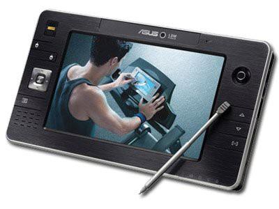 "Tablet PC ASUS R2H 7"" Splendid Technology (800х480) TFT, Celeron® M ULV 900 0.9GHz/400MHz, 945GM Express, LAN, Wi-Fi, 945GM, RAM 768MB DDR 533, HDD 60GB, Web-Camera, Finger Print Reader, GPS, WinVista [0]"