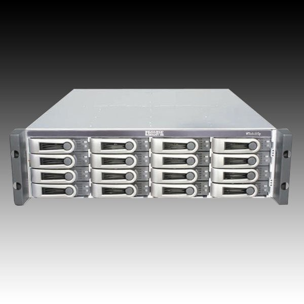 NAS PROMISE VTrak E610f (supported 16 HDD, Fibre Channel, Serial, LAN, Power Supply - hot-plug / redundant, 3U Rack-mount, SAS/SATA II, Level 0, 1, 10, 5, 50, 6, 1E, 60) [0]