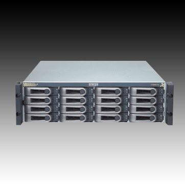 NAS PROMISE VTrak E610f (supported 16 HDD, Fibre Channel, Serial, LAN, Power Supply - hot-plug / redundant, 3U Rack-mount, SAS/SATA II, Level 0, 1, 10, 5, 50, 6, 1E, 60) [1]