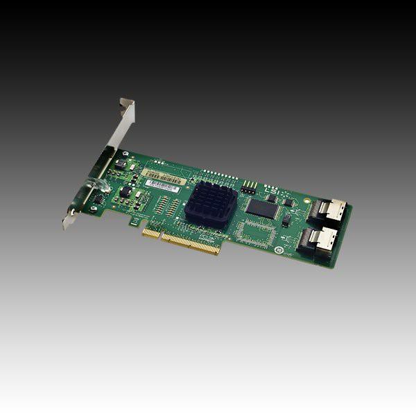Intel RAID Controller SASUC8I (8port LSI SAS1068E, 3Gb/s SAS/SATA, entry-level HW RAID 0/1/1E/10E, PCIe x8, low profile, half-length MD2 form factor, LP Bracket included, 2 connectors Mini-SAS SFF-808 [0]