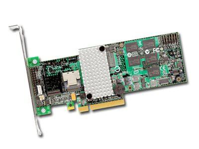 RAID Controller LSI LOGIC MegaRAID SAS 9260-4i (4ch Internal LSISAS2108 ROC, 6Gb/s up to 32 SAS/SATA/SSD, PCI-E 2.0 X8, 512MB DDR2, optional LSIiBBU07, RAID 0,1,5,6,10,50,60, 1 Connector 1xMini-SAS SF [1]
