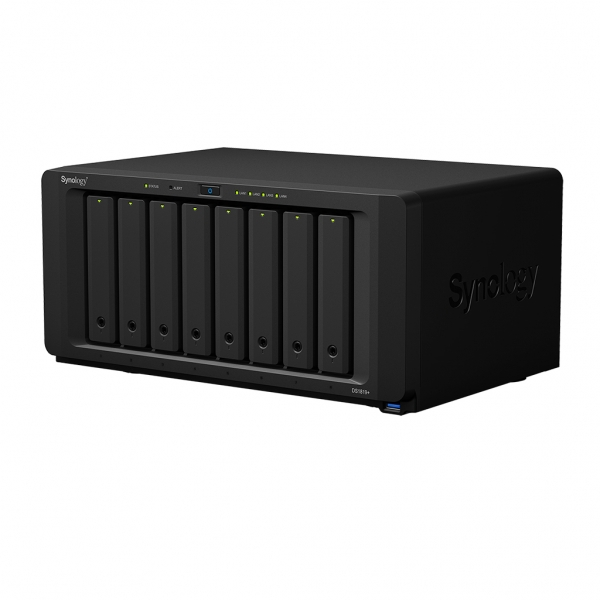 Statie de BACK-UP date Network Attached Storage (NAS) DS1819+ 4GB - Synology 1