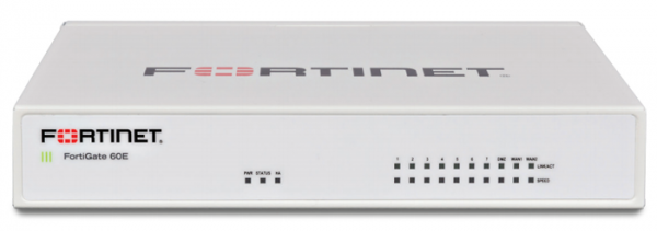 Firewall Fortinet FortiGate-60E - Hardware plus 1 YearHardware plus 24x7 FortiCare and FortiGuard Unified (UTM) Protection 0