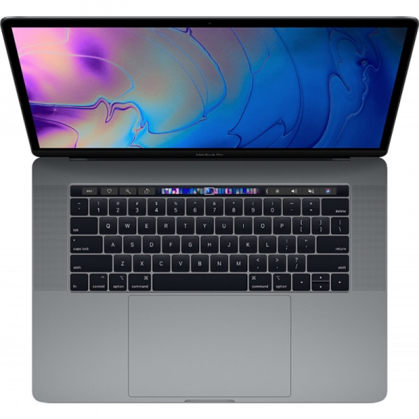 Notebook / Laptop Apple 15.4'' The New MacBook Pro 15 Retina with Touch Bar, Coffee Lake 8-core i9 2.3GHz, 16GB DDR4, 512GB SSD, Radeon Pro 560X 4GB, Mac OS Mojave, Space Grey, INT keyboard 1