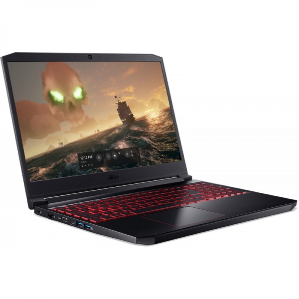 Notebook / Laptop Acer Gaming 15.6'' Nitro 7 AN715-51, FHD, Procesor Intel® Core™ i7-9750H (12M Cache, up to 4.50 GHz), 8GB DDR4, 1TB 7200 RPM, GeForce GTX 1650 4GB, Linux, Black 4