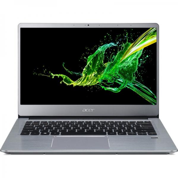 Notebook / Laptop Acer 14'' Swift 3 SF314-41, FHD IPS, Procesor AMD Ryzen™ 3 3200U (4M Cache, up to 3.50 GHz), 8GB DDR4, 256GB SSD, Radeon Vega 3, Linux, Silver 0