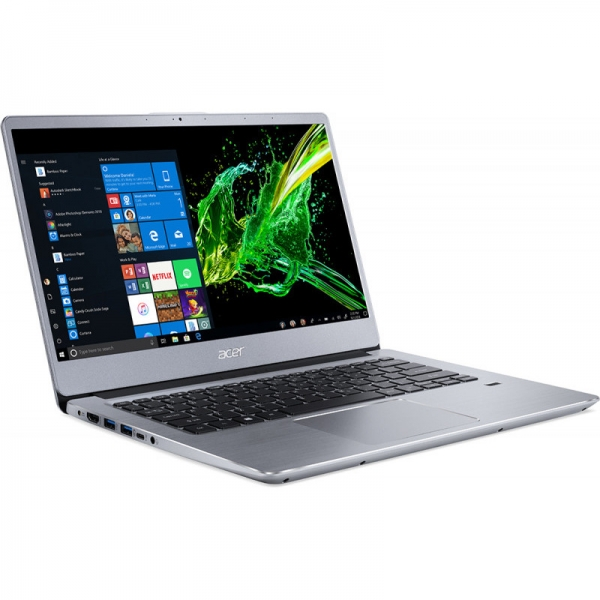 Notebook / Laptop Acer 14'' Swift 3 SF314-41, FHD IPS, Procesor AMD Ryzen™ 3 3200U (4M Cache, up to 3.50 GHz), 8GB DDR4, 256GB SSD, Radeon Vega 3, Linux, Silver 2
